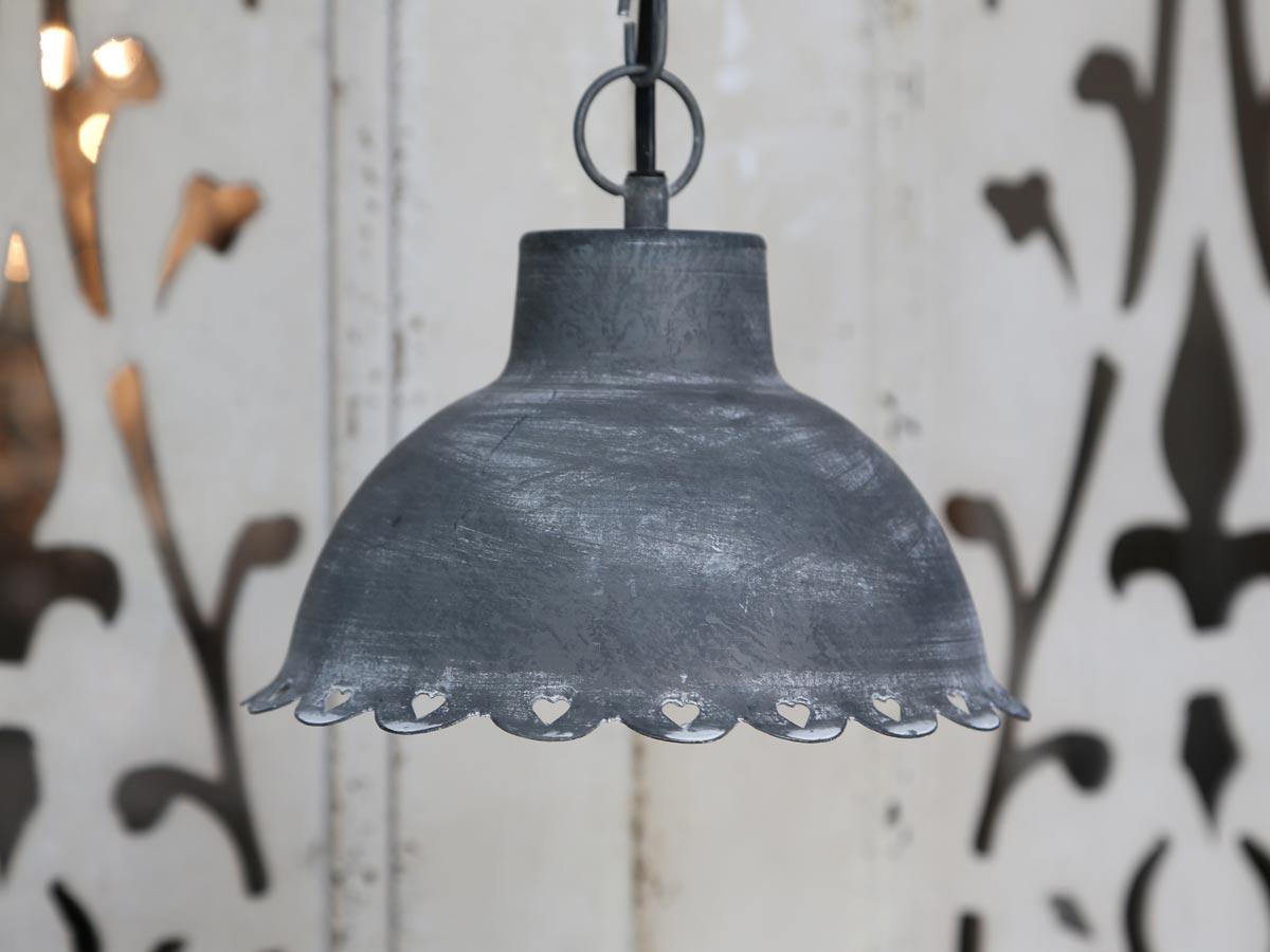 lampe grau daniela 39 s shabby chic boutique. Black Bedroom Furniture Sets. Home Design Ideas